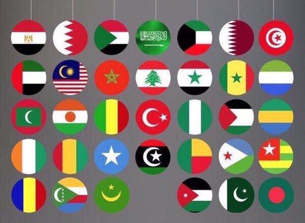 اعلام الدول الاسلامية بالصور اعلام جميع الدول الاسلامية هيلاهوب